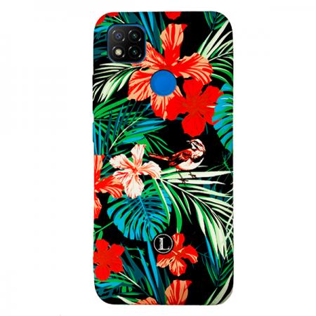 LUXO Black #H8 print TPU Silicone Case for Xiaomi Redmi 9C / M2006C3MG