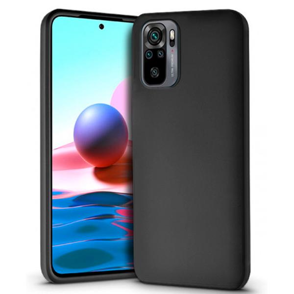 Black TPU Silicone Case for Xiaomi Redmi Note 10 / 10s