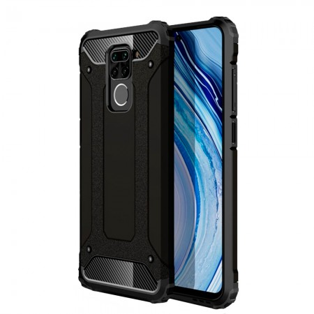 Black Forcell Armor Case for Xiaomi Redmi Note 9