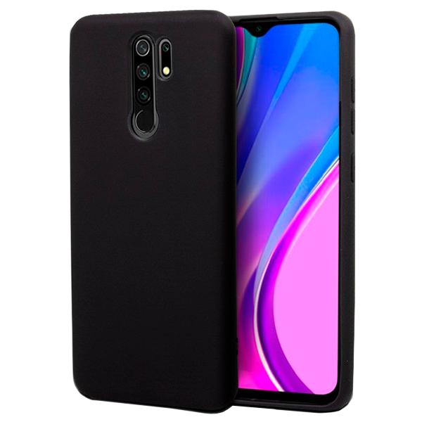 Black TPU Silicone Case for Xiaomi Redmi 9