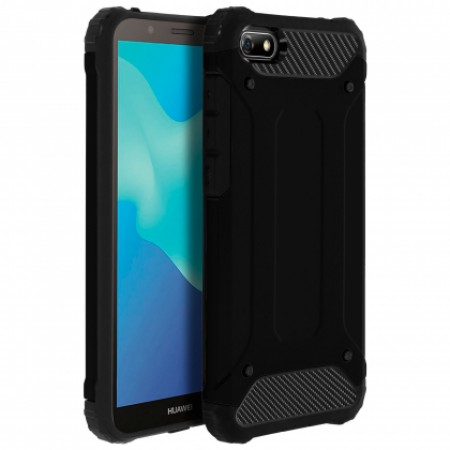 Black Armor shockproof Case for Huawei Y5 2018 / Y5 Prime (2018)