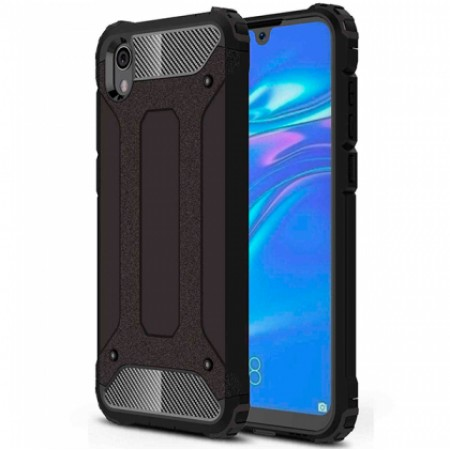 Black Armor shockproof Case for Huawei Y5 2019