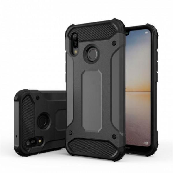 Black Armor Case for Huawei Y6 / Y6 Prime (2019)