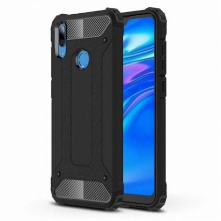 Black Armor Case for Huawei Y7 2019 DUB-LX1 / Y7 Prime (2019) DUB-LX3