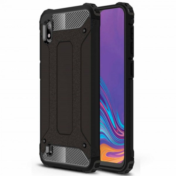 Black Armor shockproof Case for Samsung Galaxy A10 SM-A105F/DS