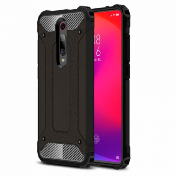 Black Armor shockproof Case for Xiaomi Mi 9T / M1903F10G