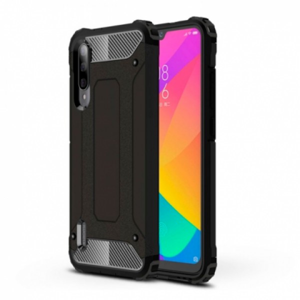 Black Armor Case for Xiaomi Mi A3