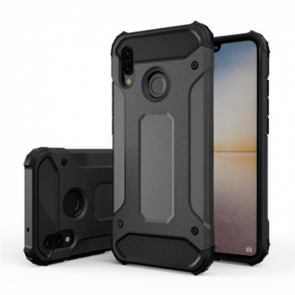 Black Armor Case for Xiaomi Redmi Note 7