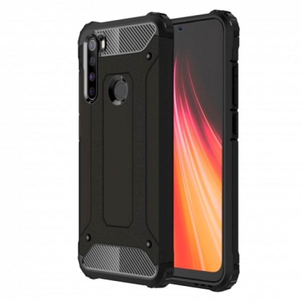 Black Armor shockproof Case for Xiaomi Redmi Note 8 / M1908C3J