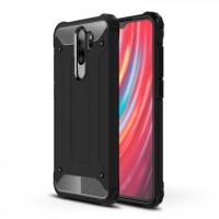 Black Armor shockproof Case for Xiaomi Redmi Note 8 Pro / M1906G7I