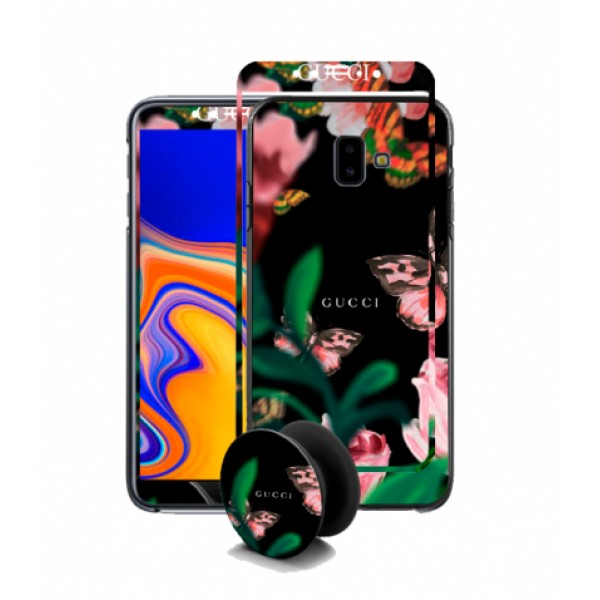 BeLLa Set is a set of 3 parts with the same design for Samsung Galaxy J6 Plus j610 - mod. 7