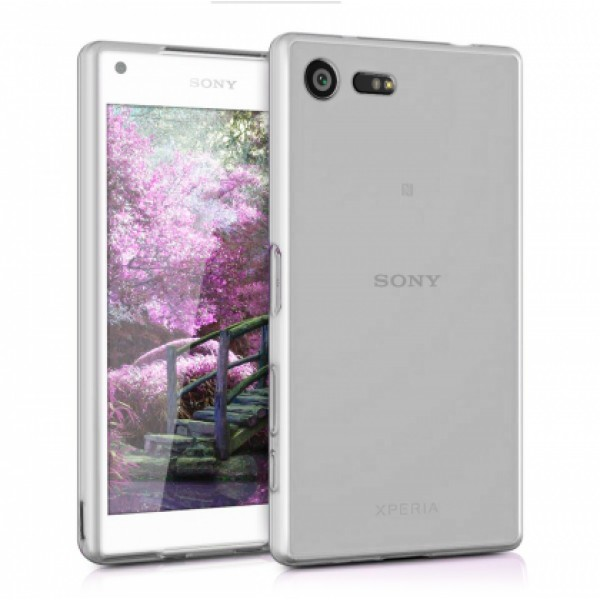 White TPU Silicone Case for Sony Xperia X Compact