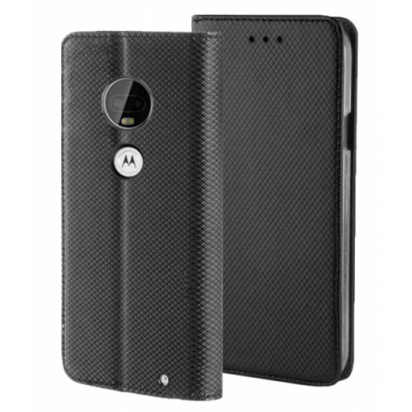 Black Book MAGNET case for Motorola Moto G7 Plus