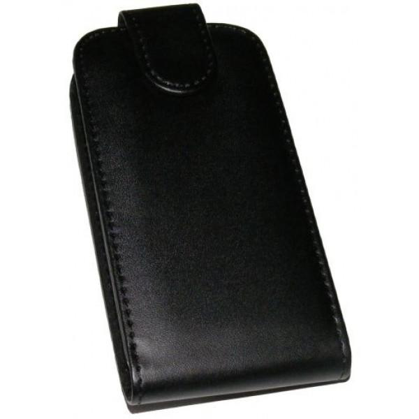 Black Flip case for HTC Desire 300