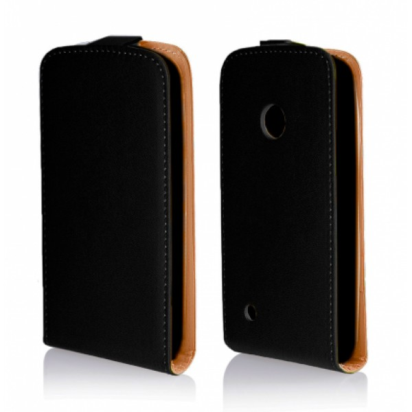 Black Flip case for Nokia Lumia 530