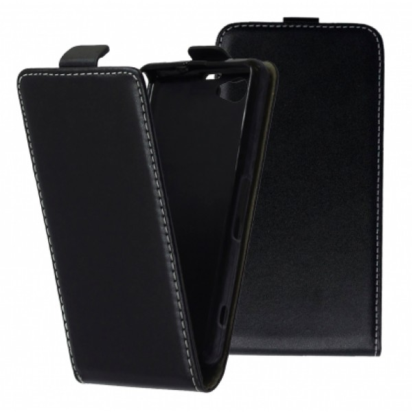 Black Flip case for Sony Xperia Z1 compact