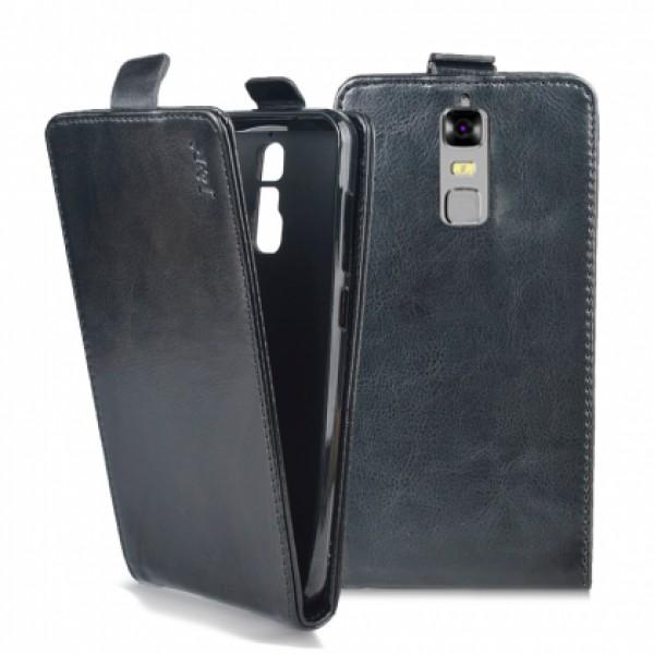 Flip case for ZTE Blade A610 Plus - black