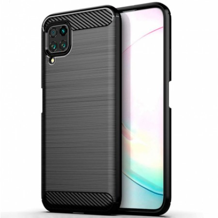 CARBON silicone back with carbon print for Huawei P40 lite