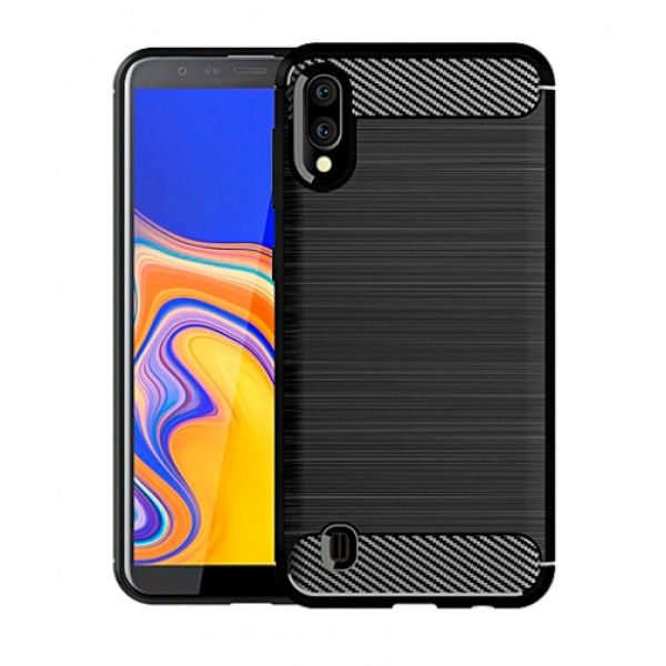 CARBON silicone back with carbon print for Samsung Galaxy M10 / SM-M105F/DS