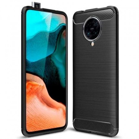 CARBON silicone back with carbon print for Xiaomi Poco F2 Pro / M2004J11G