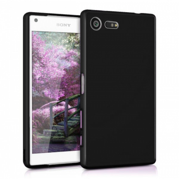 Black TPU Silicone Case for Sony Xperia X Compact