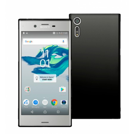 Black TPU Silicone matte Case for Sony Xperia XZ Dual F8332
