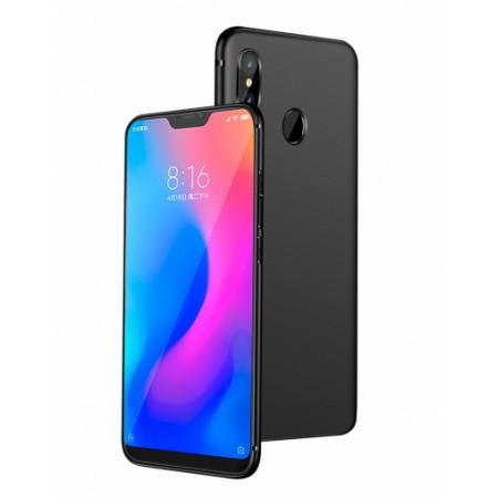 Black Silicone Case for Xiaomi Mi A2 Lite (Redmi 6 Pro)