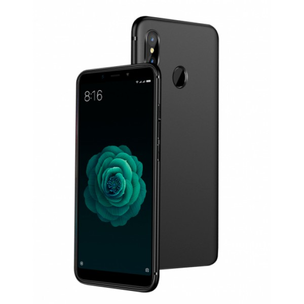 Black Silicone Case for Xiaomi Mi A2 (Mi 6X)