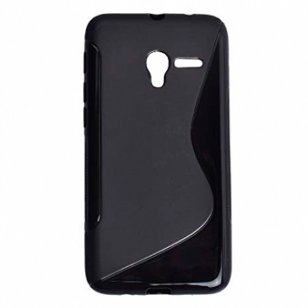 Black TPU Silicone Case for ALCATEL ONE TOUCH POP 3 5\'