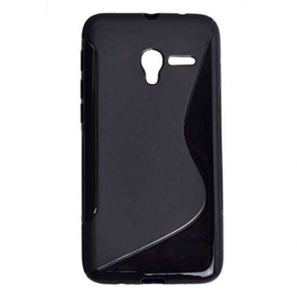 Black TPU Silicone Case for ALCATEL ONE TOUCH POP 3 5'
