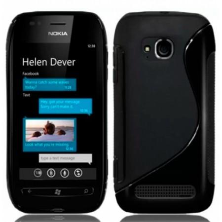 TPU S-line Gel Silicone Case for Nokia Lumia 710