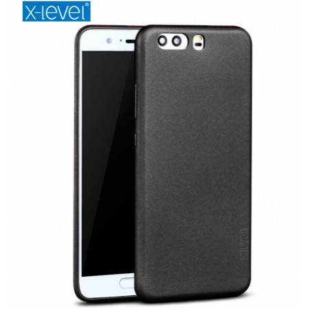 Black silicone back with X-level Guardian series for Huawei P10