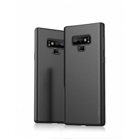 Black silicone back with X-level Guardian series for Samsung Galaxy Note 9 SM-N960F/DS