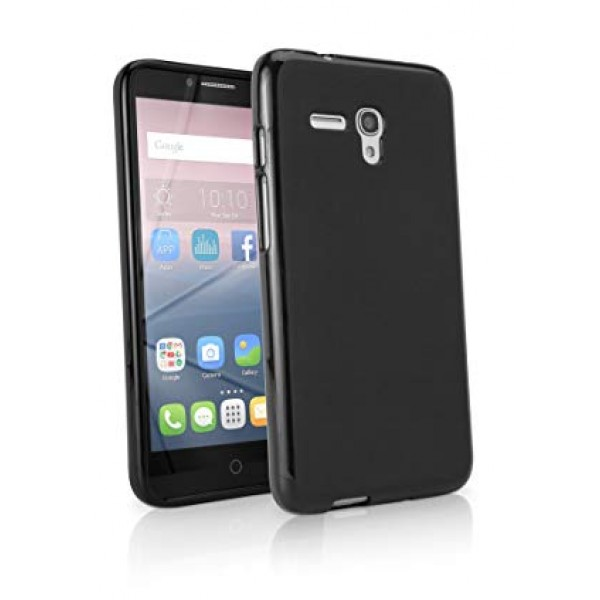 Black TPU Silicone Case for ALCATEL ONE TOUCH POP 3 5.5' 5025D
