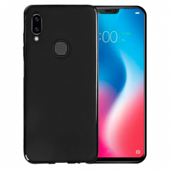 Black TPU Silicone Case for Lenovo S5 Pro