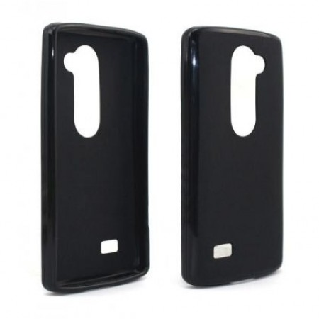 Black TPU Silicone Case for LG Leon 4G LTE H340N