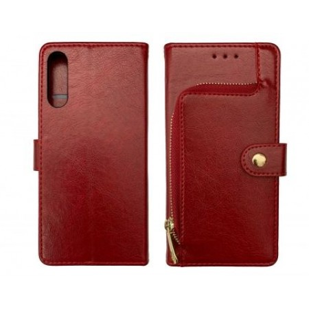 Red Book Wallet MAGNET case for Samsung Galaxy A50