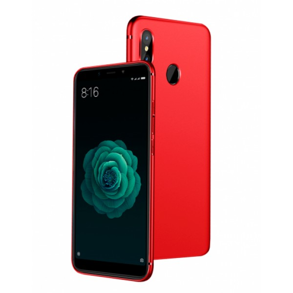 Red Silicone Case for Xiaomi Mi A2 (Mi 6X)