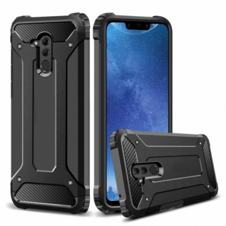 Black Forcell Armor Case Huawei Mate 20 lite