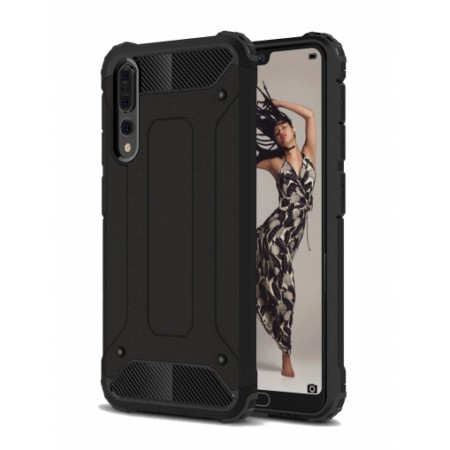 Black Forcell Armor Case Huawei P20 Pro