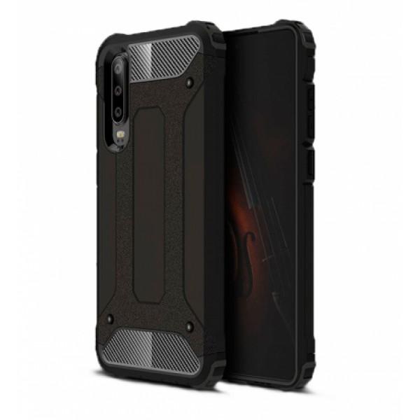 Black Armor Case Huawei P30 ELE-L09 / ELE-L29