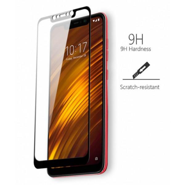 Full-screen corning series for Xiaomi Pocophone F1 - black frame