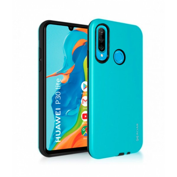 Turquoise Jelly Roar Rico Armor Case for Huawei P30 lite