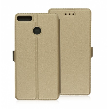 Book Pocket case for Huawei P Smart FIG-LX1 - gold