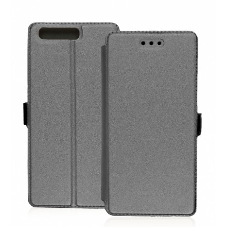Book Pocket case for Huawei P10 - grey