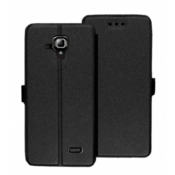 Book Pocket case for Lenovo A536  - black