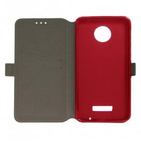 Book Pocket case for Motorola Moto Z - red