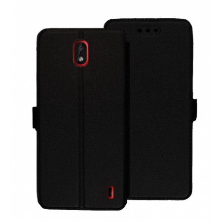 Book Pocket case for Nokia 1 Plus  - black