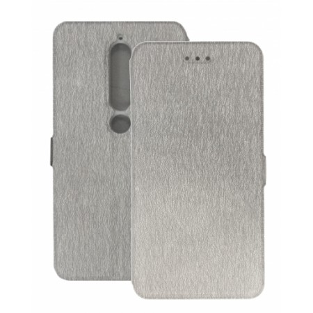 Book Pocket case for Nokia 6.1 2018 - gray