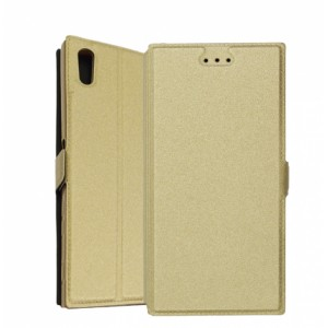 Gold Book Pocket case for Sony Xperia XA1